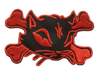 Cat bone red animal big