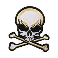 Skull bone golden patch big