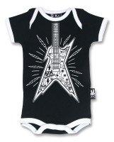 SB guitar black six bunnies baby body