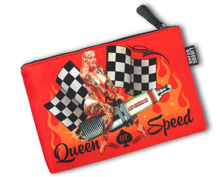 Queen of speed cosmetic bag liquorbrand