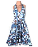 Anchors birds Monroe dress liquorbrand