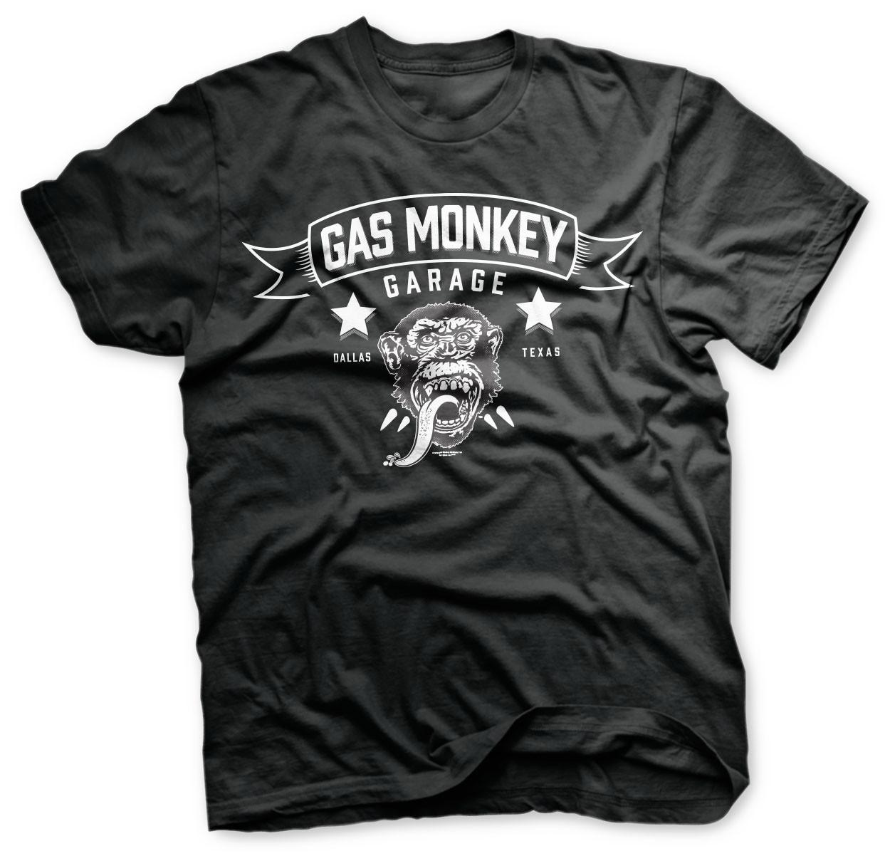 Gas Monkey Garage Blood Sweat Beers T-Shirt Black
