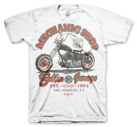 Mechanic shop bobber garage hotrod
