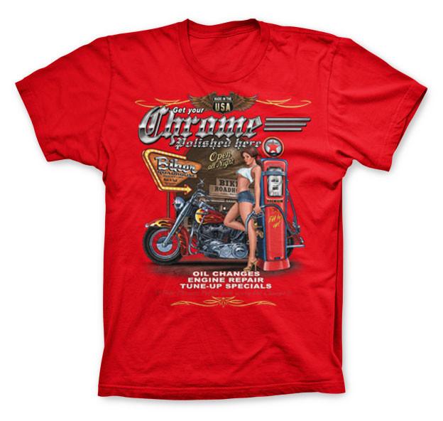 Get your biker chrome polished hotrod