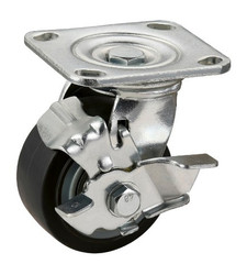 Heavy Duty Caster For Dolly With Brake