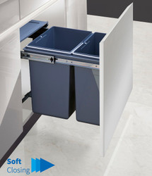 Garbage Bins System - Width 13-1/2 Inches