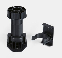 Adjustable Plastic Legs - 3-3/4 to 5-1/4 Inches