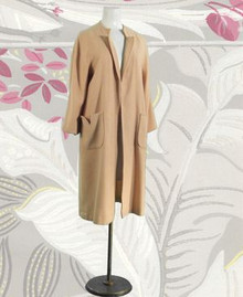 Light wool spring coat