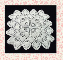 Lovely little crocheted doily
