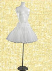Perky tulle and cotton crinoline
