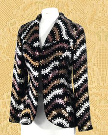 Amazing 1970s disco jacket