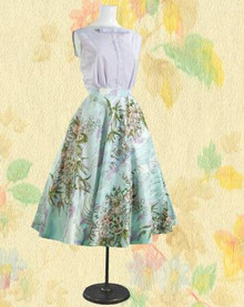 Sunny 1960s Bobbie Brooks top & skirt set