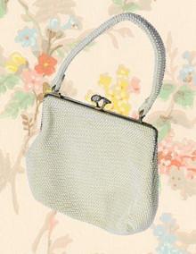 Vintage beaded 1960s purse