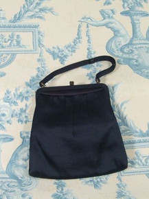 1950s Navy MM handbag