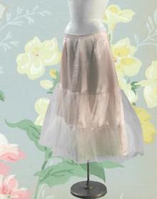 Silky baby pink crinoline