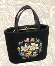 Gorgeous vintage needlepoint handbag