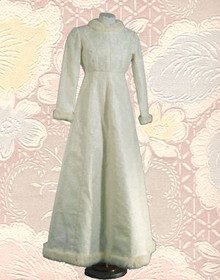 Dr Zhivago ice palace wedding gown