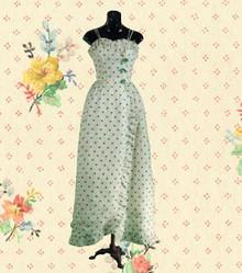 Sweet polka dot gown