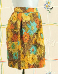 Chic 1960s cotton apron