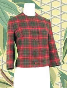 Classic Pendleton plaid jacket