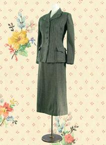 Fine wool suit  - 1950s