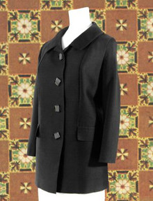 Classic black dress jacket