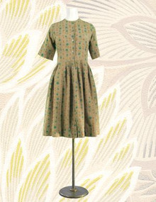Cotton shirtwaist from the 60s
