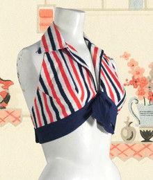 1960s Patriotic halter top