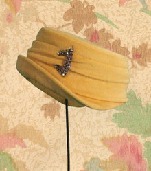 1960s Butterscotch hat