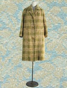 Wool Mohair Boucle car coat fron Davidow