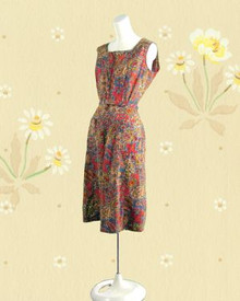 1950s Solartogs cotton romper