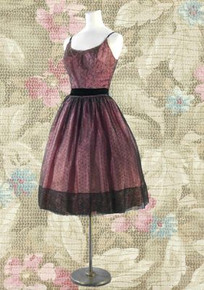 Party frock from the 50s