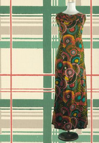 1960s Karen Ann Hawaiian maxi dress