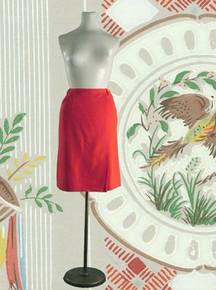 1960s Wool tailored skirt