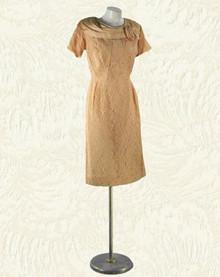 1960s Lace cocktail dress