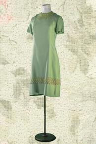 1960s Sophisticated silk coat & dress set