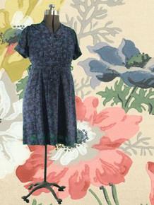 1940s Feminine day dress