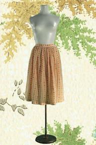 Dainty 1950s Dirndl-esque Skirt