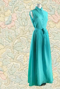 1960s long shirt-dress with belt
