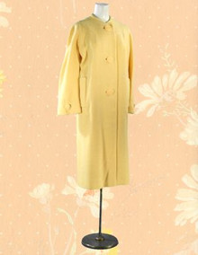 Late 50s wool tweed coat