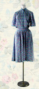 1980's Skirt and blouse set, by Jaeger