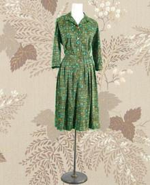 1960 Shelton Stroller jersey dress