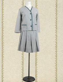 Lolita striped sailor suit