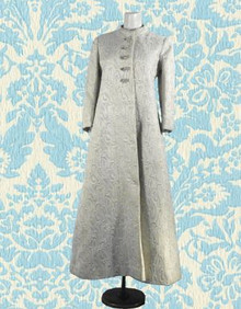 Quilted Saks Fifth Avenue opera coat