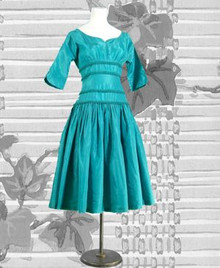 Stunning turquoise dance dress