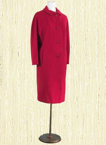 Rouge Julius Garfinkel & Co Cashmere Coat