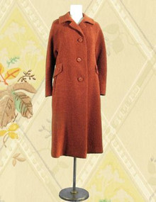 Wool boucle coat from Rosens Toronto