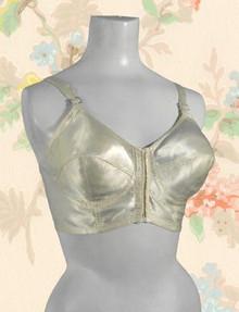 Very vintage 1940s satin brassiere