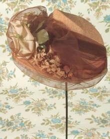 Fantastic 1940s brimmed hat