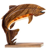Rainbow Trout Table Decor